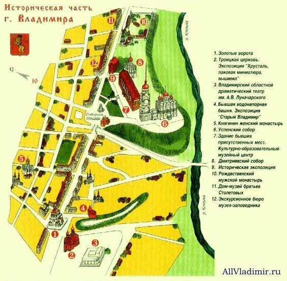 Объектная карта исторического